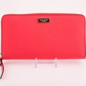 Kate Spade Newbury Lane Wallet Coral *FIRM*